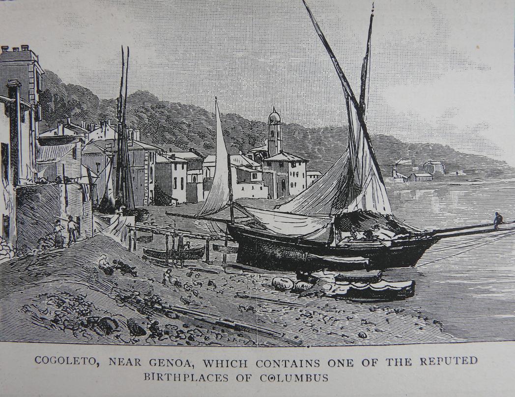 Immagine raffigurante imbarcazioni in rimessaggio sulla spiaggia di Cogoleto