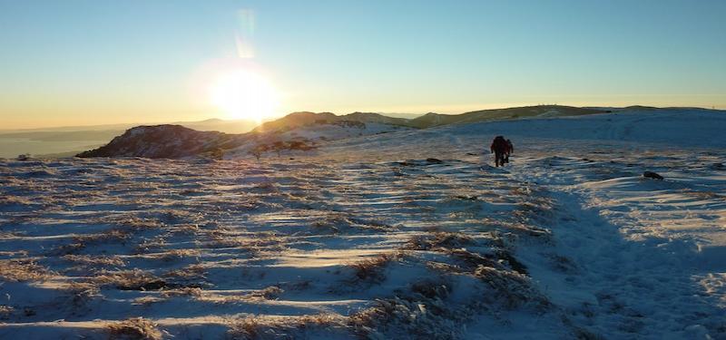 Alta Via con neve